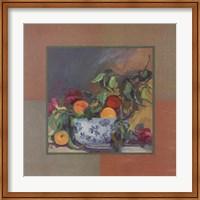 Peach Still Life Fine Art Print