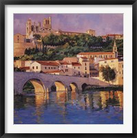 French Reflections Fine Art Print