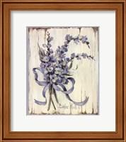 Summer Bouquet Of Blues I Fine Art Print