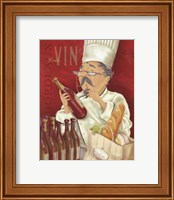 Wine Chef I Fine Art Print