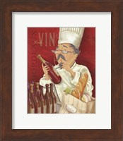 Wine Chef I Fine Art Print