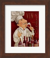 Wine Chef III Fine Art Print