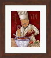 Wine Chef IV Fine Art Print