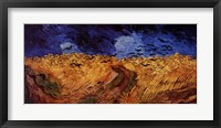 Wheatfield with Crows, c.1890 Fine Art Print
