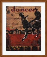 Dancers Make Their Partners Look Swell Fine Art Print