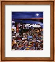 Moonlight Over Manhattan Fine Art Print