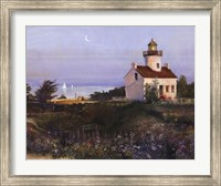 House On Lake Fine Art Print