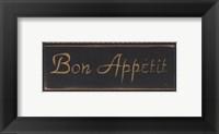 Bon Appetit Noir Fine Art Print