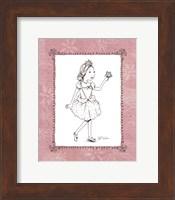 Pink Ballerina 1 Fine Art Print