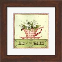 Floral Teacup IV Fine Art Print
