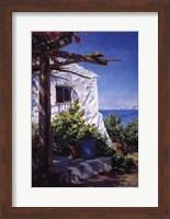 Casa En La Costa Fine Art Print