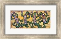 Gecko Maracas Band Fine Art Print