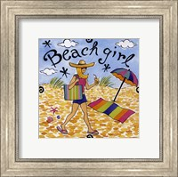 Beach Girl I Fine Art Print