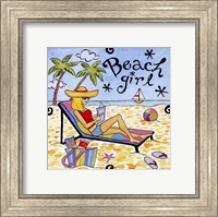 Beach Girl II Fine Art Print