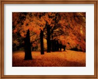 Gold Of Autumn East Fine Art Print