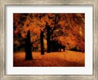 Gold Of Autumn East Fine Art Print