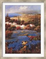 Villagio Blu Fine Art Print