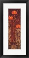 Contemporary Crimson II Fine Art Print