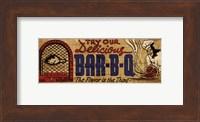 Retro Diner BBQ Fine Art Print