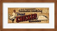 Retro Diner Chicken Fine Art Print