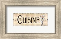 Cuisine Fine Art Print