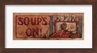 Soup's On Fine Art Print