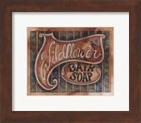 Wildflower Bath Soap Fine Art Print