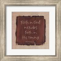 Faith In God Fine Art Print