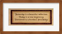 Yesterday, Today, Tomorrow Fine Art Print