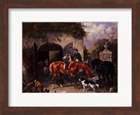 Before The Hunt II Fine Art Print