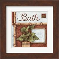 Bath (over a green plant) Fine Art Print