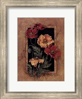 Framed Poppies Fine Art Print