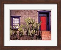 The Red Door Fine Art Print