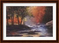 Rocks and Stream Fine Art Print