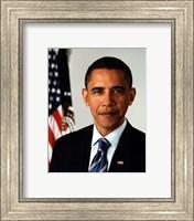 Barack Obama 09 Official Portrait Fine Art Print