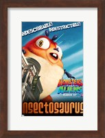 Monsters vs. Aliens, c.2009 - style F Wall Poster