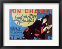 London After Midnight, c.1927 Wall Poster
