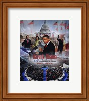 2009 Barack Obama Inaugural Portrait Plus Fine Art Print