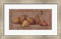Pear Fresco Fine Art Print