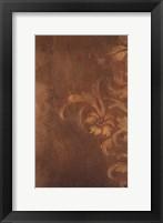 Bronze Flourish I Fine Art Print