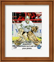 Marty Turco 2008-09 Away Action Fine Art Print