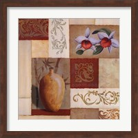 Mandarin Collage I Fine Art Print