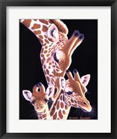 A Nudge From Mom Fine Art Print