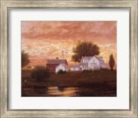 Farm Pond Reflections Fine Art Print