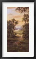 Tropical Lagoon I Fine Art Print