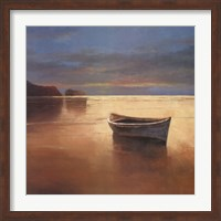 Boat on Beach Fine Art Print