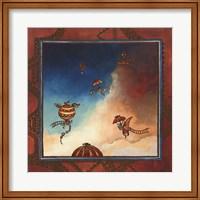 Voyage en ballon Fine Art Print