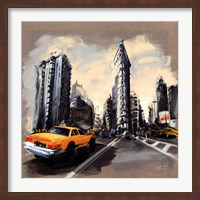 New York - Flatiron Building Fine Art Print