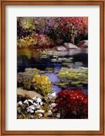 Garden Pond Fine Art Print