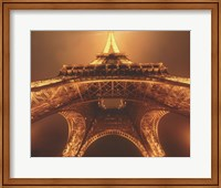 Beneath the Eiffel Tower Fine Art Print